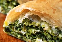 Savory phyllo, pies, tarts and quiches / by Lella Rajchin