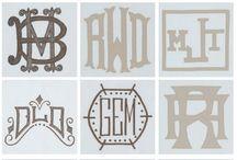 Logo / Monogram / by Alce Mielczarek
