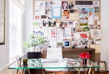 home office / by Danielle Eylander
