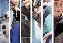 { Frozen } / A prophecy traps a kingdom in eternal winter, so Anna must team up with Kristoff, a daring mountain man, on the grandest of journeys to find the Snow Queen and put an end to the icy spell. Encountering Everest-like extremes, mystical creatures and magic at every turn, Anna and Kristoff battle the elements in a race to save the kingdom from destruction. Release date: November 27, 2013 (USA) / by Pam Smith