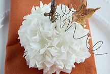 Fall and autumn crafts, recipes, and more / by Jennifer Sikora
