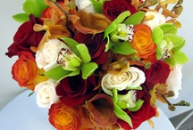 Wedding Flowers for Bouquet and Buttonhole  / by Tanya Whiteley