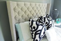 Home: DIY headboard / by Emily Ben