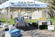 Cool Tips Yard/Garage Sale /   / by Faith Finds