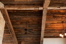 Hand Hewn Beams / by Olde Wood Limited