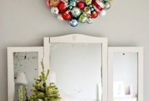 Christmas Cheer  / Fun ideas for Christmas. Cute favors, pretty trees, lovely front doors, and more for a happy and festive holiday season.  / by Lisa Milam