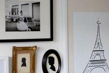 b & w | gallery wall / by Kelly Kersey