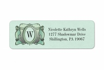My Designs: Address Labels / Some of my best sellers - designs that have been made into address labels. / by Nancy Lorene