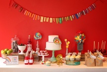 Party :: Rainbow / Rainbow party ideas that will inspire you to create a unique party of your own. / by Jen & Sia | Thrifty NW Mom