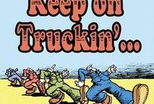 KEEP ON TRUCKIN / TRUCKS & VANS / by J.M. JOHNS