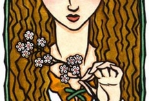 Beltane-tide / Hail to the Queen of the May! / by Jill Texeira