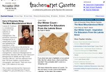 Teacher Articles & News / Articles and news stories about teachers, or for teachers.  Want to publish a teacher article?  Check out the Teachers.Net Gazette at http://teachers.net/gazette/current/ / by Teachers.Net