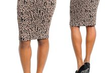 Faldas y pantalones / by Clementina Campos