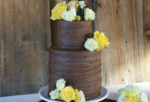 Buttercream Textured Cakes / All kinds of texture with only buttercream, no fondant.  / by Jenniffer White