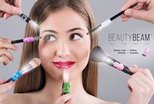 Beauty Beam / The BeautyBeam fits on every Beauty tool and stimulates natural light so you can apply makeup flawlessly and see every detail for tweezing, applying eyeliner, mascara, eyelash extensions, lip gloss and any other beauty tool you prefer to use!   See more at TheBeautyBeam.com   Follow The BeautyBeam on https://www.facebook.com/nabc.beautybeam?fref=photo http://instagram.com/the_beautybeam https://twitter.com/TheBeautyBeam  Copyright 2014 NABC - The Beauty Beam (Beauty Beam)  / by The BeautyBeam