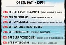 Summer Madness Sale / Shop the #Summer Madness #Sale at Kona Sports. In-store only. / by Kona Sports