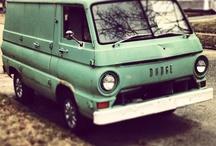 Vans / Enclosed vehicle / by Joe Saffa