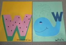 Alphabet & Site Word Activities / by Christy Johnson