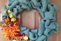 Wreaths / by Brittney Brown
