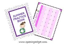 SLP-Summer Resources / by Lisa Del Rio