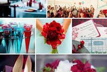 red white and blue wedding inspiration / by Banner Events