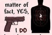 Gun-Totin' Liberal! / by Kristina