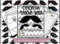 Synonym stache / by Buysellteach
