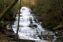 Waterfalls / by Explore Rabun, North Georgia Mountains