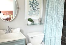 bathroom makeover ideas / by Paige Wilson