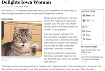 What The Onion Says About Cats / by Christopher Berry