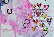 Art Journal inspiration / by Leann Lindeman