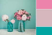 Wedding Flower Colors / Take a look at each different wedding color swatch and see what best suits your theme.  / by Afloral Wedding Flowers and Decorations