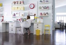 craft room / by Andrea Swenson