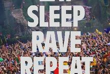 Music,ravers life style , rave outfits and EDM / by Sonya Richard
