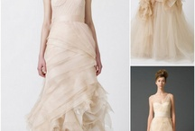 Not- so- white Wedding Dress / by LUX Wedding Florist