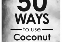 Coconut oil / by Cathy Slay