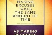 ~Excuses~ / by Sandy Demaris