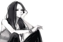 Anime/drawings/art / by Arni Gesselle Pornea