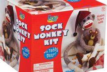 sock monkey / by wendy dow