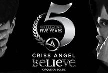 Criss Angel Believe  / Luxor's Cirqu du Soleil show Criss Angel Believe / by Luxor Las Vegas