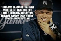 Derek jeter♥♥♥ / by Kimberly Masters