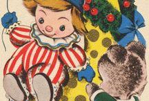 VINTAGE GREETINGS - CHRISTMAS / by Linda Maus