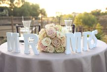 AWESOME WEDDING INSPIRATION! / by Michelle Sanford