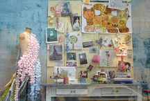 Installations / Display and booth ideas / by Sharon Holland Designs