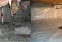 Crawlspaces / by Indiana Crawl Space Repair