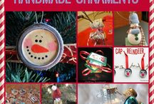 Handmade ornaments / by Victoria Baker-Hall