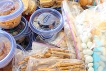 Snack time ideas  / by Kristen Sutherin