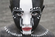 Traditional tribal / by The Face Painting School