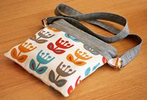 Mini bag / Tutorial / by Sharon Wilson