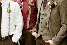 mens wedding fashions / by Viva Wedding Photography